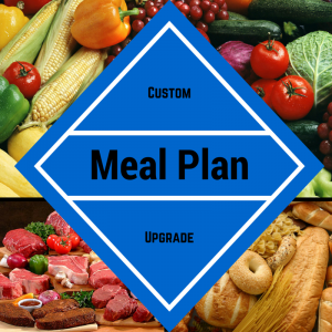 One Time Meal Plan Upgrade
