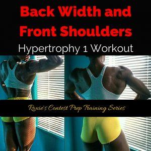 Back Width and Front Shoulders Hypertrophy Workout